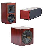 Hsu ULS-15 Subwoofer HB-1 HC-1 Speakers