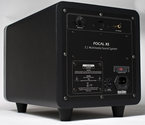 Focal XS 2.1 iPod Dock